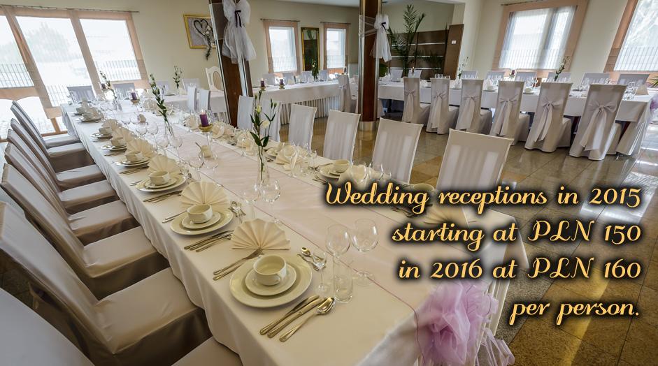 wedding hall in Henlex hotel and restaurant Poznan